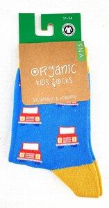"""GOTS zertifizierte Biobaumwolle Socken mit Auto """" Print """" - VNS Organic"""