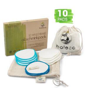 10 Bio Pads waschbar und wiederverwendbar von baleco - baleco
