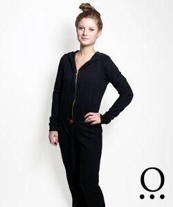 Jumpsuit Organic Cotton black - Frija Omina