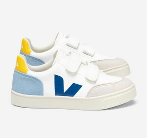 Sneaker Kinder - V-12 Velcro Leather - Veja