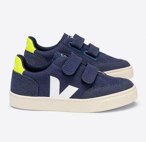 Sneaker Kinder Vegan - V-12 Velcro Canvas - Veja