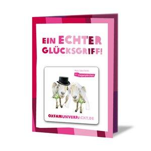 Ziegenpärchen - OxfamUnverpackt