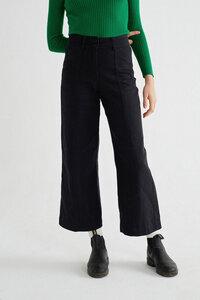 Hose aus Hanf und Bio Baumwolle - Hemp Kupalo Pants - Schwarz - thinking mu