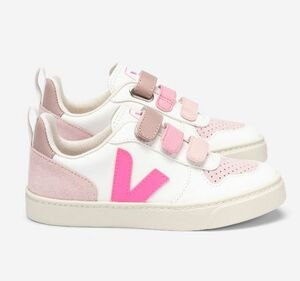 Sneaker Kinder - V-10 Velcro Leather - Veja