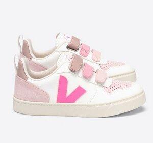Sneaker Kinder - V-10 Velcro Leather - Veja
