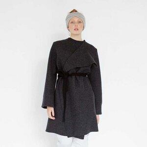 Eleganter Mantel aus Bio-Wolle - Natascha von Hirschhausen