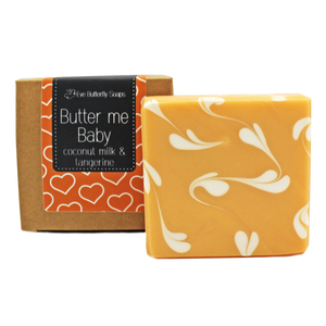 "Naturseife ""Butter me Baby"" (mit Kokosmilch) - Eve Butterfly Soaps"