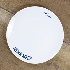 Porzellanteller Mehr Meer - Bow & Hummingbird