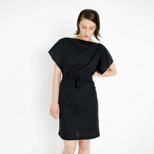leichtes Sommerkleid aus schwarzer Bio-Baumwolle - Natascha von Hirschhausen