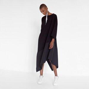 Asymmetrisches Kleid aus Bio-Baumwolle - Natascha von Hirschhausen