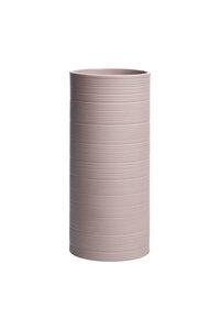 Vase Vintage aus mattem Steinzeug, Ø 9,8 × 21 cm - TRANQUILLO