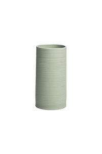 Vase Vintage aus mattem Steinzeug, Ø 7,5 × 15 cm - TRANQUILLO