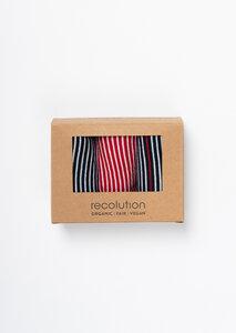 Gestreiftes Socken Set aus Bio Baumwolle | Socken Set #STRIPES - recolution