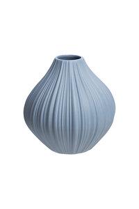 Vase aus mattem Steinzeug, Ø 9 × 9 cm - TRANQUILLO