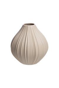 Vase Vintage aus mattem Steinzeug, Ø 9 × 9 cm - TRANQUILLO