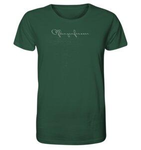 """Unisex Shirt """"Pflanzenfresser"""" 100% Bio-Baumwolle - BVeganly"""