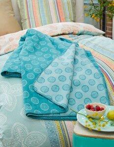 Kuschelige Decke aus Bio-Baumwolle (GOTS) - Deerberg