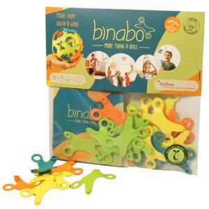 Binabo - Konstruktionsspielzeug aus Bioplastik - 24 Chips in vier Farben - von Tic Toys - TicToys
