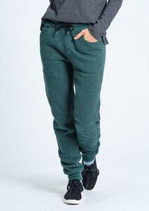 Damen Waffle Jogginghose aus Bio Baumwolle grün | Waffle Sweatpants - recolution