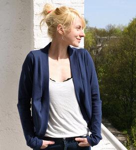 Jäckchen tiefblau - Lena Schokolade