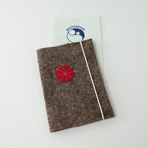 Umschlag für Mutterpass aus Bio-Filz 'marta' - matilda k. manufaktur