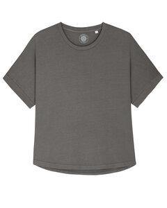 "Damen Yoga Shirt aus Bio-Baumwolle ""Yoanna"" Vintage - University of Soul"