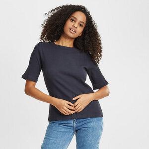 T-Shirt - CANNA gerippt - aus Bio-Baumwolle  - KnowledgeCotton Apparel