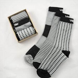 SocksBox COOLful blk/gry - Vresh