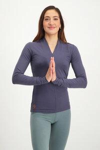 Yoga Langarm Shirt Bambus - Mudra - Urban Goddess