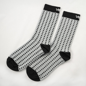 Socks blk/gry Dots - Vresh Clothing