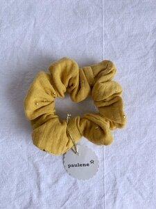 Scrunchie - Haargummi aus Baumwoll-Musselin - Paulene Accessoires