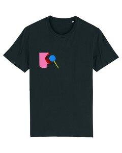 """Unisex T-Shirt aus Bio-Baumwolle """"Licked"""" Stickerei"""" - Bretter&Stoff"""