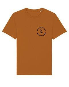 """Unisex T-Shirt aus Bio-Baumwolle """"Welcum To Berlin"""" Stickerei - Bretter&Stoff"""