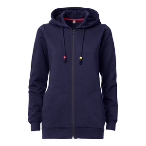 ThokkThokk TT1006 Circle Zip Hoodie Woman Midnight - THOKKTHOKK