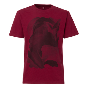 ThokkThokk Motion T-Shirt Man black/ruby - THOKKTHOKK