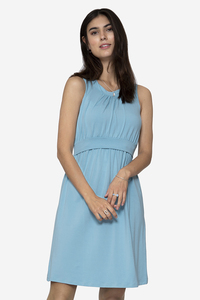 Umstandskleid Stillkleid uni & gepunktet - milker nursing