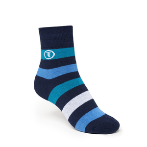 ThokkThokk Tape Mid-Top Plüsch Socken blue/navy - THOKKTHOKK