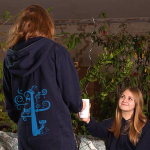 'Nighttimetree' Jumpsuit FAIRWEAR ORGANIC - shop handgedruckt