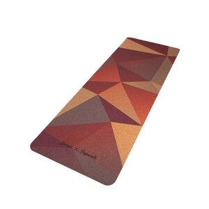 Yogamatte - Geometric Acai - paprcuts