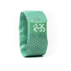 Armband Uhr - Kleine Dreiecke Grün Blau - paprcuts