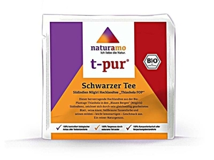 Bio Schwarzer Tee Thiashola FOP - Naturamo