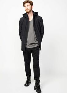 Jacket Barnsley black - LangerChen