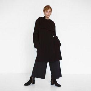 oversized Mantel aus biologischer Wolle - Natascha von Hirschhausen