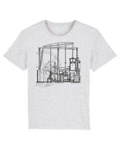 Maschinenbau T-Shirt | Dampfmaschine - Unipolar