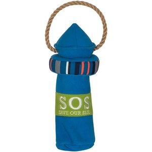 FOFOS - SOS-Save our seas - Leuchtturm, für PET-Flasche - FOFOS