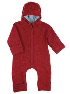 Baby und Kleinkind Walk-Overall mit Reißverschluss reine Bio-Wolle - Halfen
