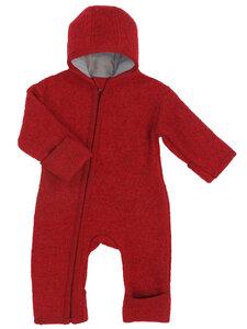 Baby Walk-Overall mit Reißverschluss reine Bio-Wolle - Halfen