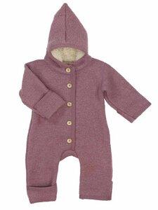 Baby und Kleinkind Walk-Overall mit Teddyfutter Bio-Wolle/Bio-Baumwolle - Halfen