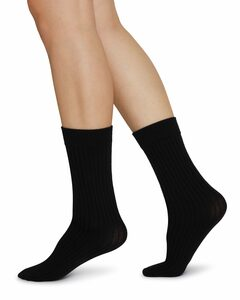 SIGNE Bio-Baumwoll Socken rib - Swedish Stockings
