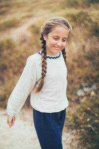 Pullover Erica - Bio-Musselin-Baumwolle - Peter Jo Kids